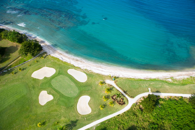 It's for lovers of blue water, sunshine and golf.