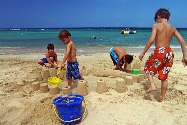 Tryall's members-only beach is a magnet for villa guests of all ages. In addition to free toys for tots at the beach ...