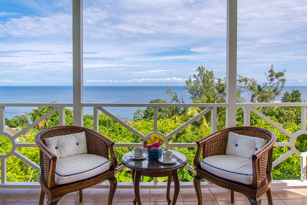 As the only bedroom in the east wing, the Master Bedroom provides dreamy views and great privacy. Request eye-opener coffee on the master  balcony.