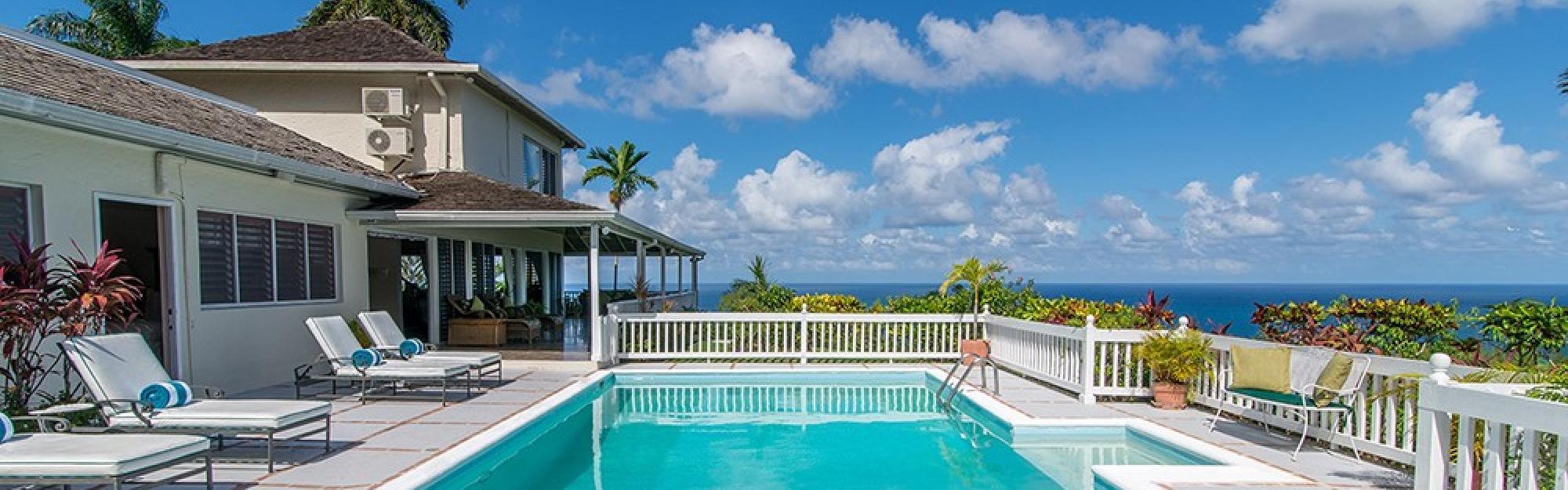 Blue Heaven Jamaica Villa By Linda Smith