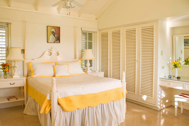 Yellow Room, upstairs in main house.