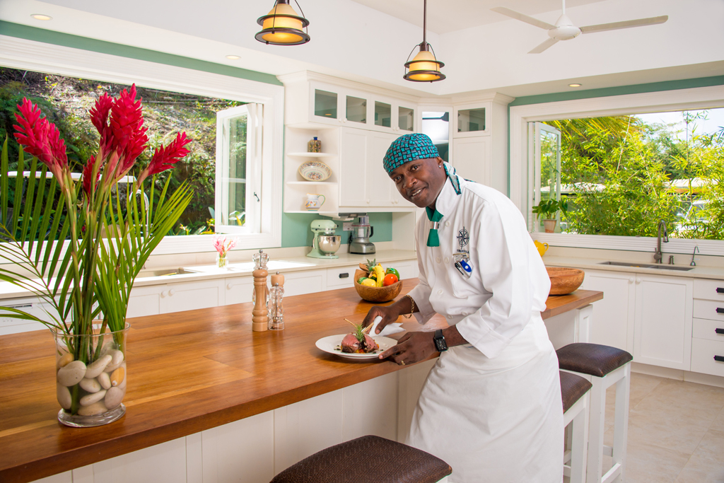 No description of Windward would be complete without one more mention of the talented and creative Chef Knight. From his sprawling state-of-the-art kitchen ...