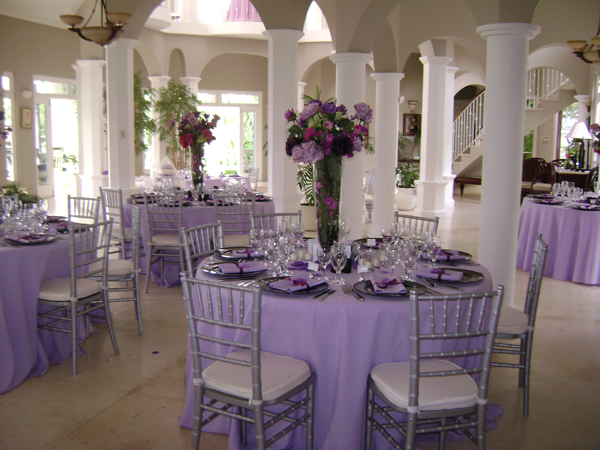 Wedding reception in Great Room