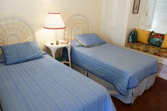 Bedroom in cottage.