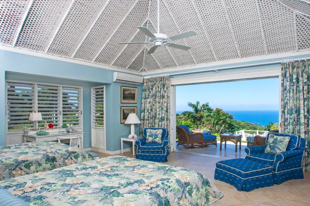 Cottage Bedroom 2 also has its own furnished verandah ...