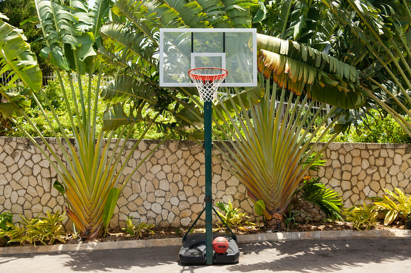 ... a basketball hoop for kids of all ages.