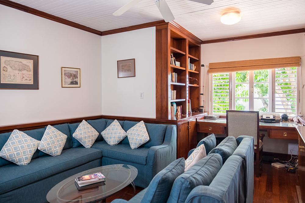 Study/TV room off the master bedroom.