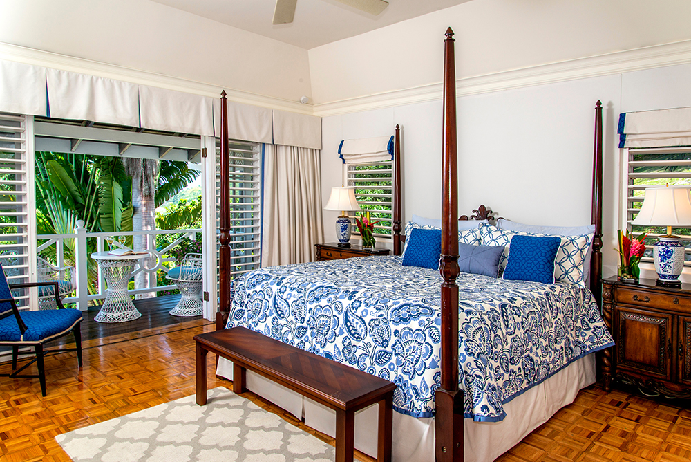 ... is Bedroom 5, also with king bed. This room is very privately located above Bedroom 4.  Its balcony overlooks ...