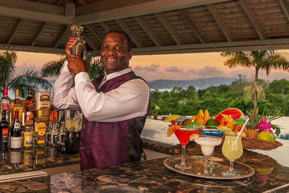 Butler David is your bartender