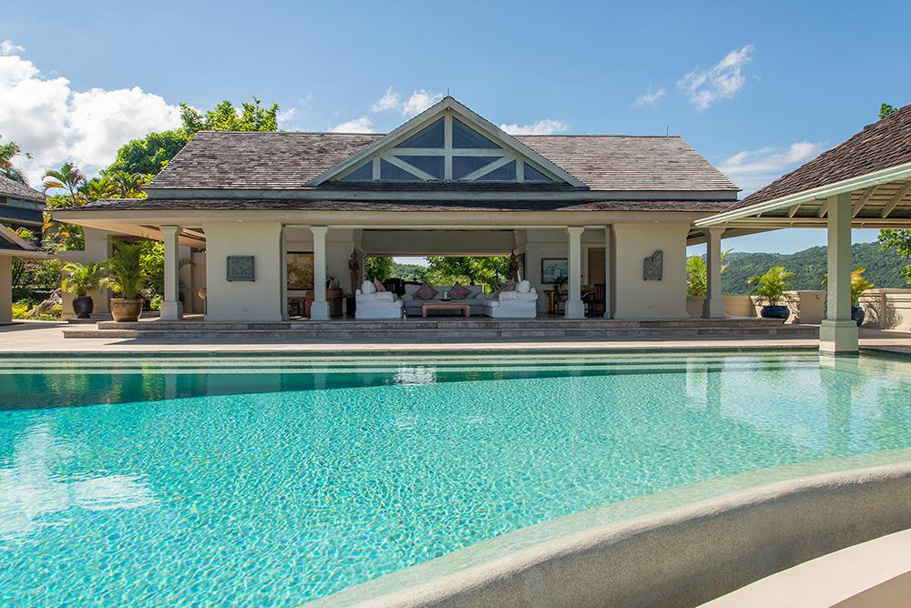 Pavilion behind the Pool
