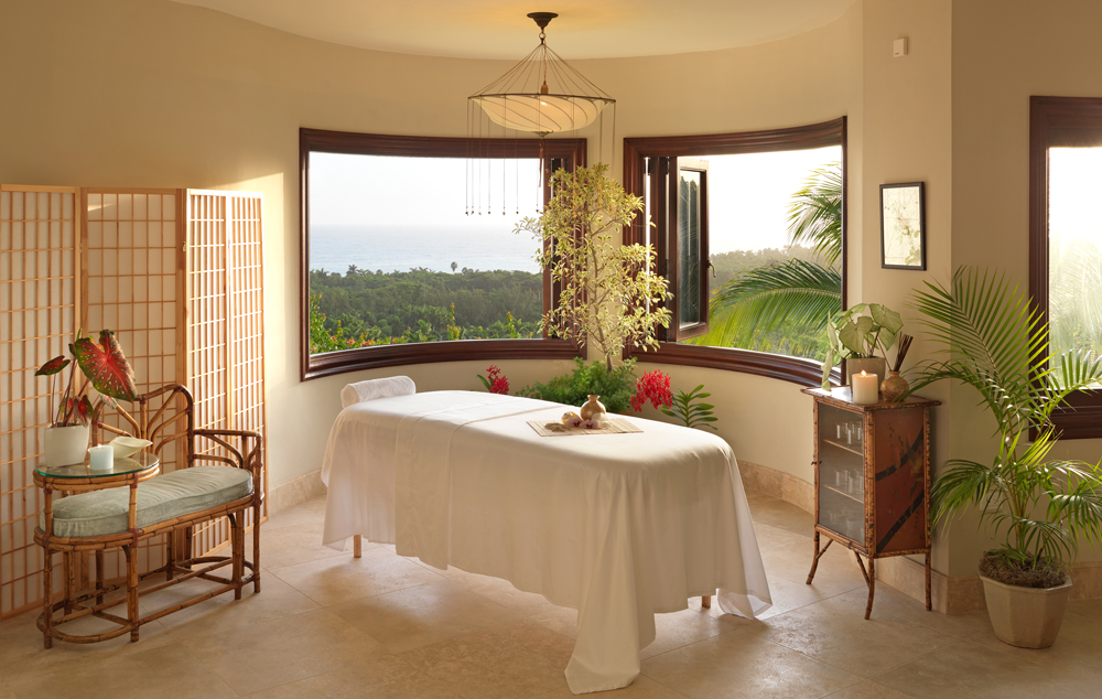 The private Flower Hill spa has two massage tables, cedar steam room and drinks fridge. For various fees, therapists offer massages, facials, body scrubs, manicures and pedicures. Heaven with