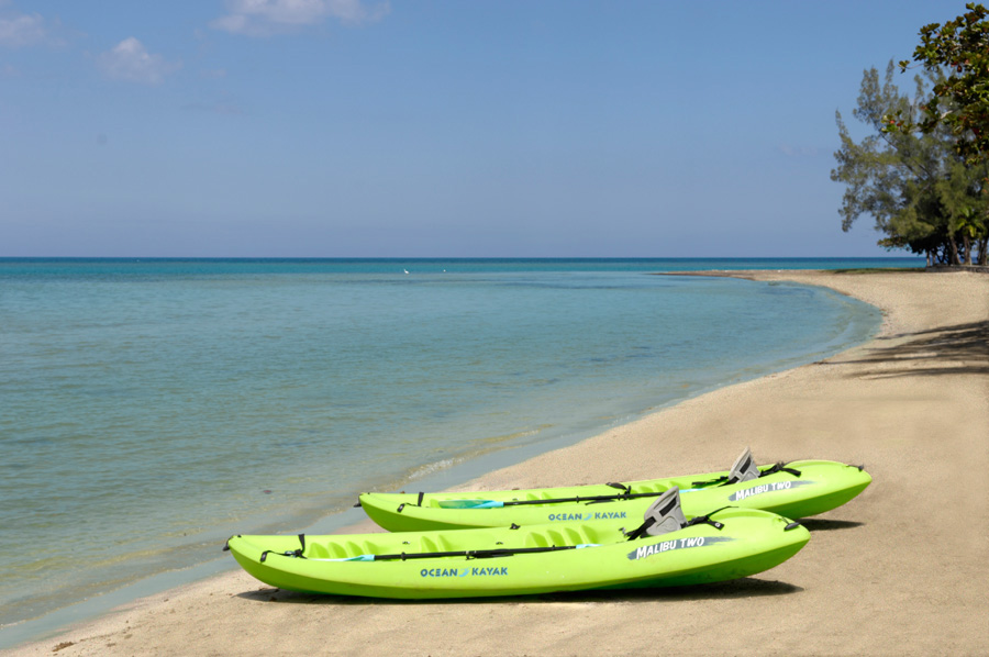 Wake up and get healthy! Take to the high seas in kayaks.